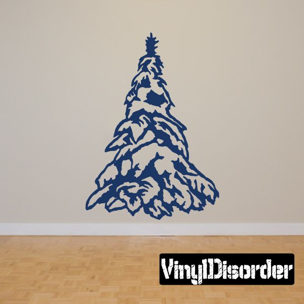 Tree Wall Decal - Vinyl Decal - Car Decal - 041