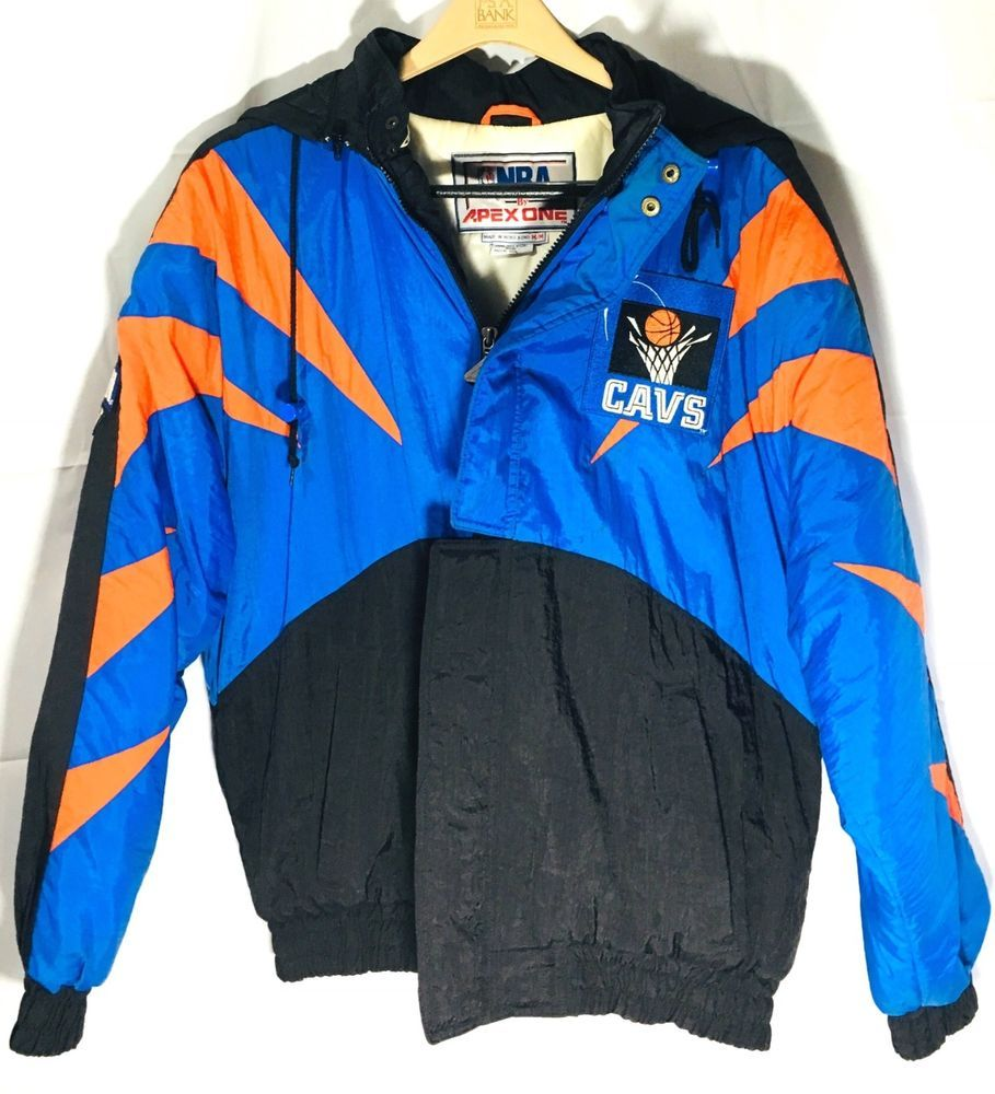 wholesale dealer bc7ef 7523e Cleveland Cavaliers Vintage 90's Cavs NBA Basketball Jacket ...