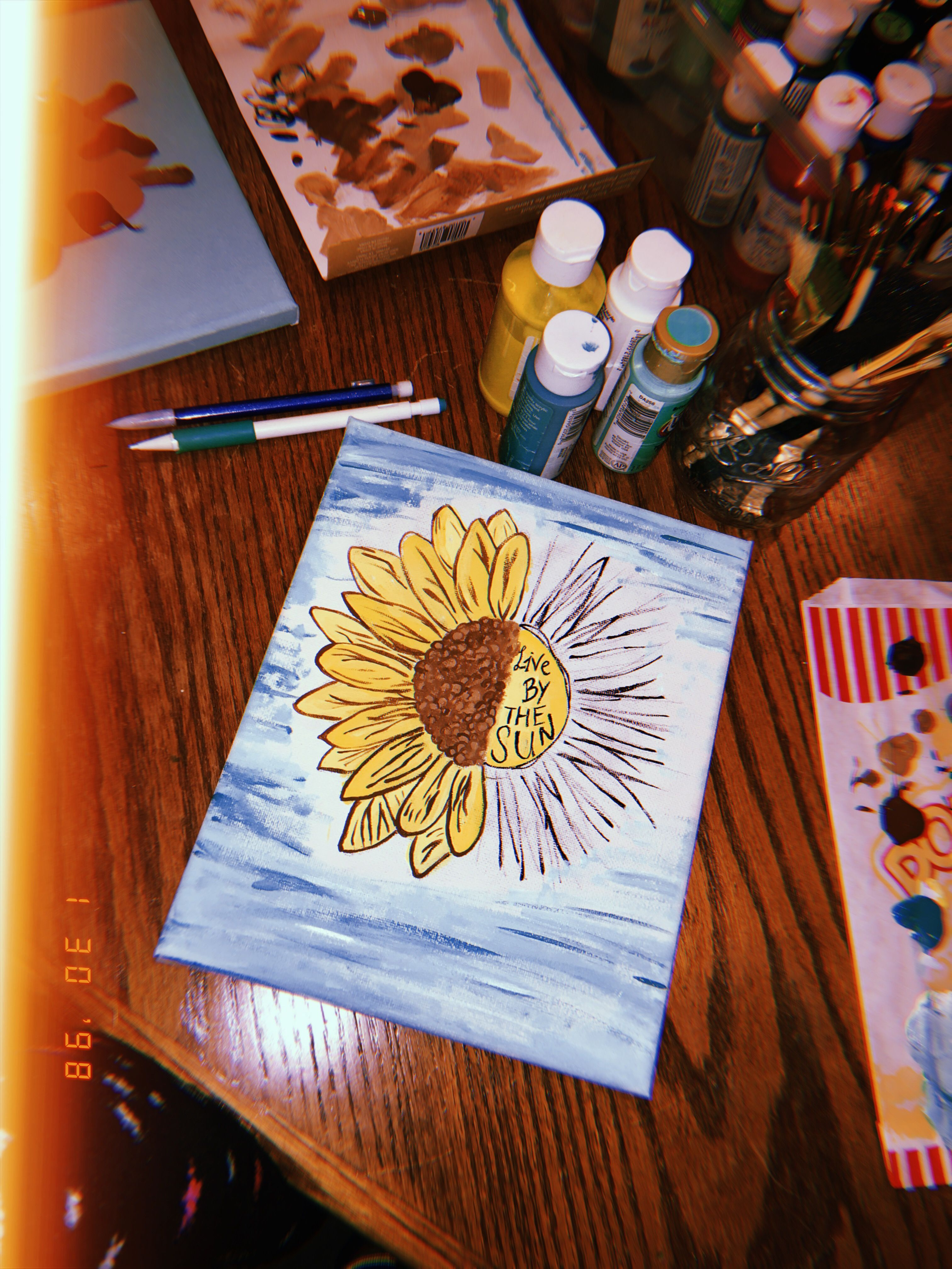 Pin by Emma Ash on diy | Easy canvas painting, Aesthetic ...