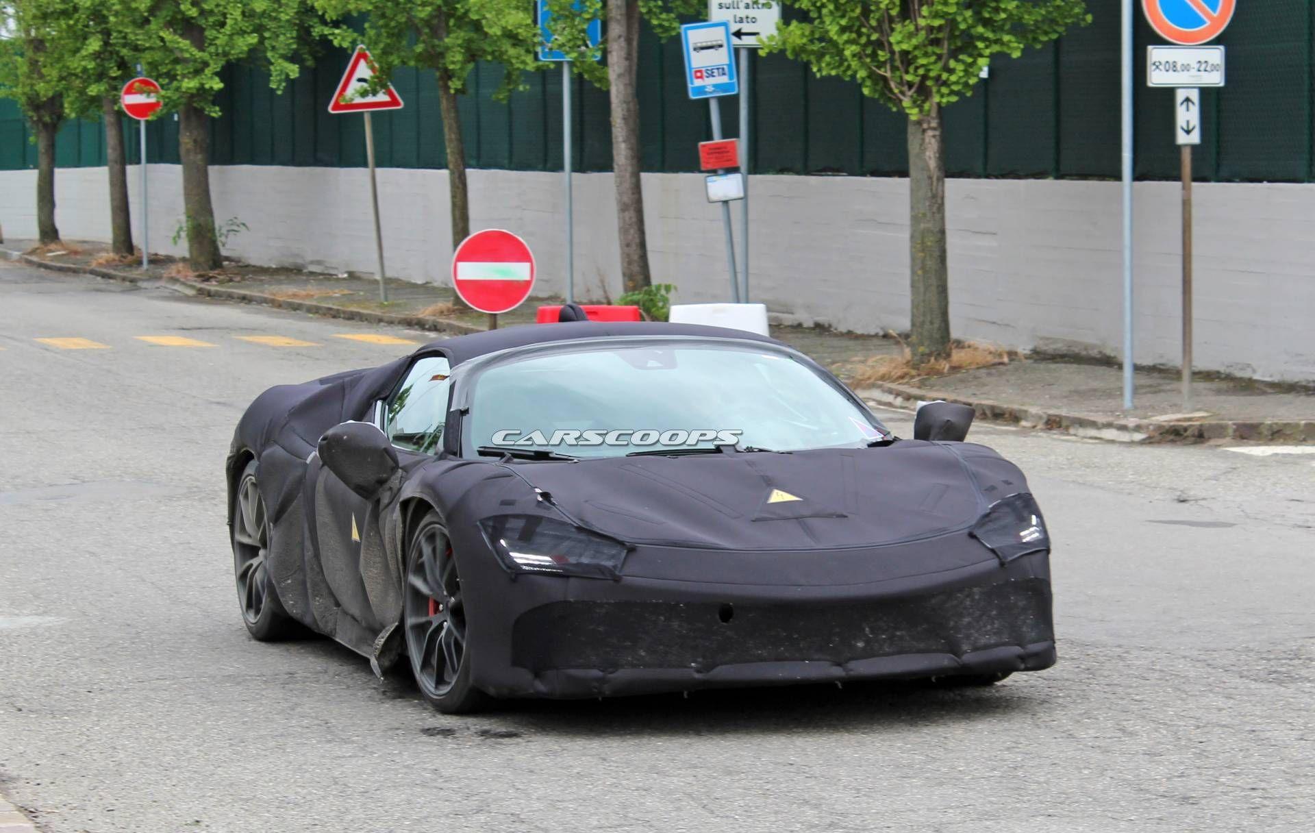 Ferrari: nuove foto spia dell'ibrida da 1000 CV - ClubAlfa.it