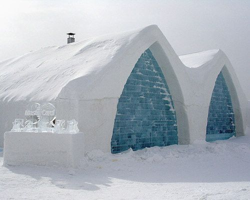 Ice Hotels, Quebec
