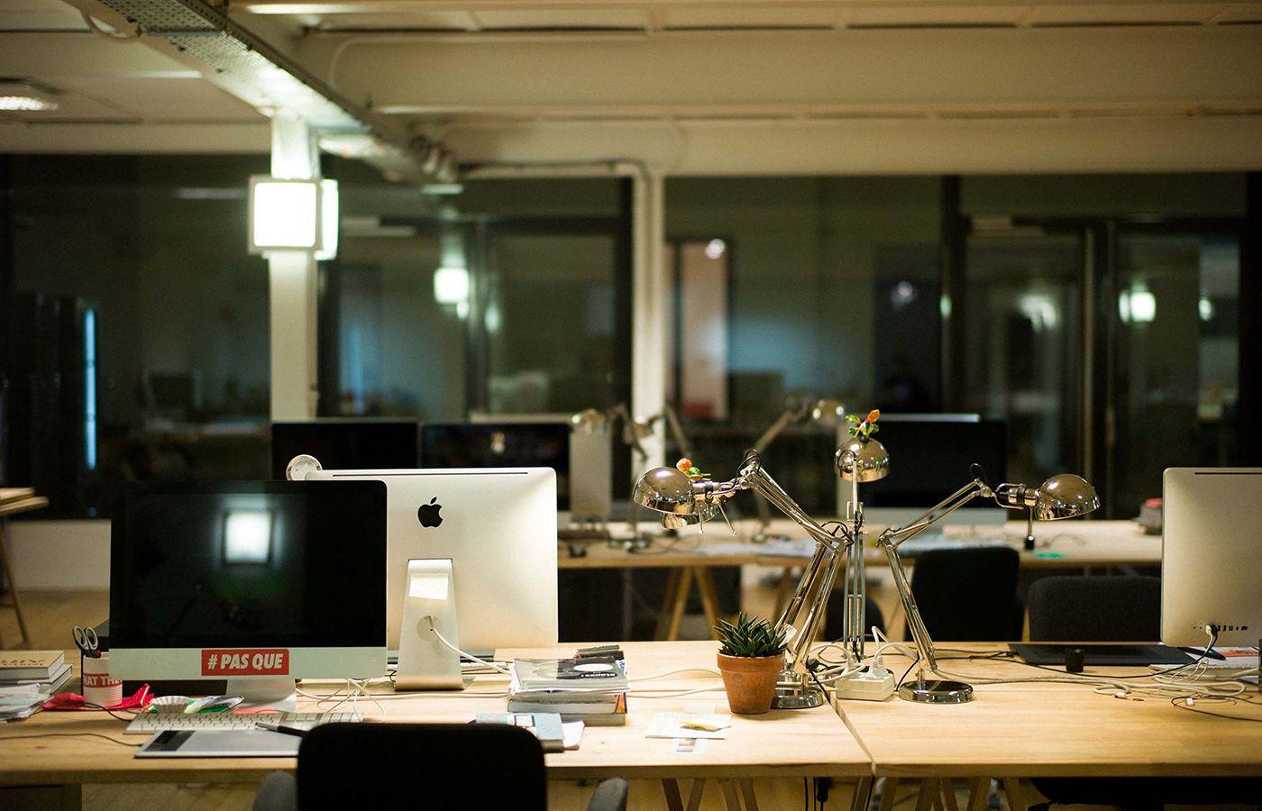 Les Bureaux De L Agence Les Gros Mots A Paris