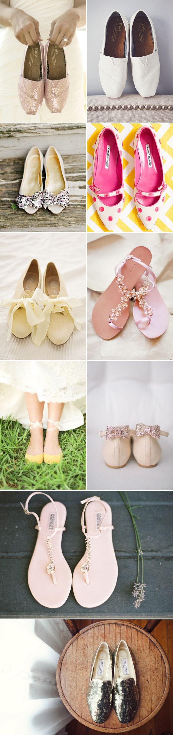 ddc6a99d8 Comfort without Sacrificing Style! 27 Pairs of Gorgeous Bridal Flats ...
