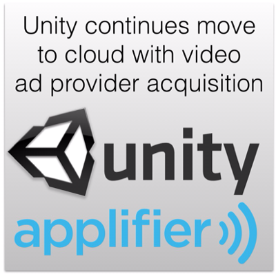 Unity Continues Move To Cloud With Video Ad Provider Acquisition Unity Video Ads Game Engine