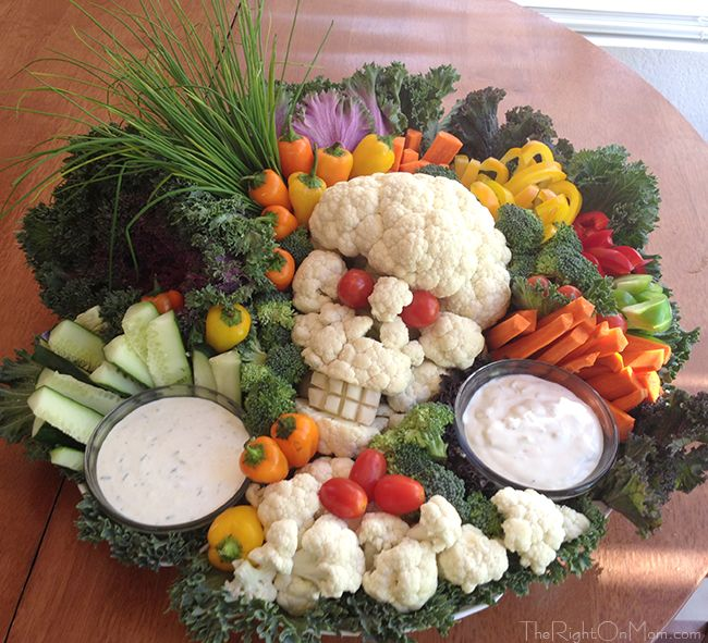 halloween skull veggie platter for a party dinner or pot luck