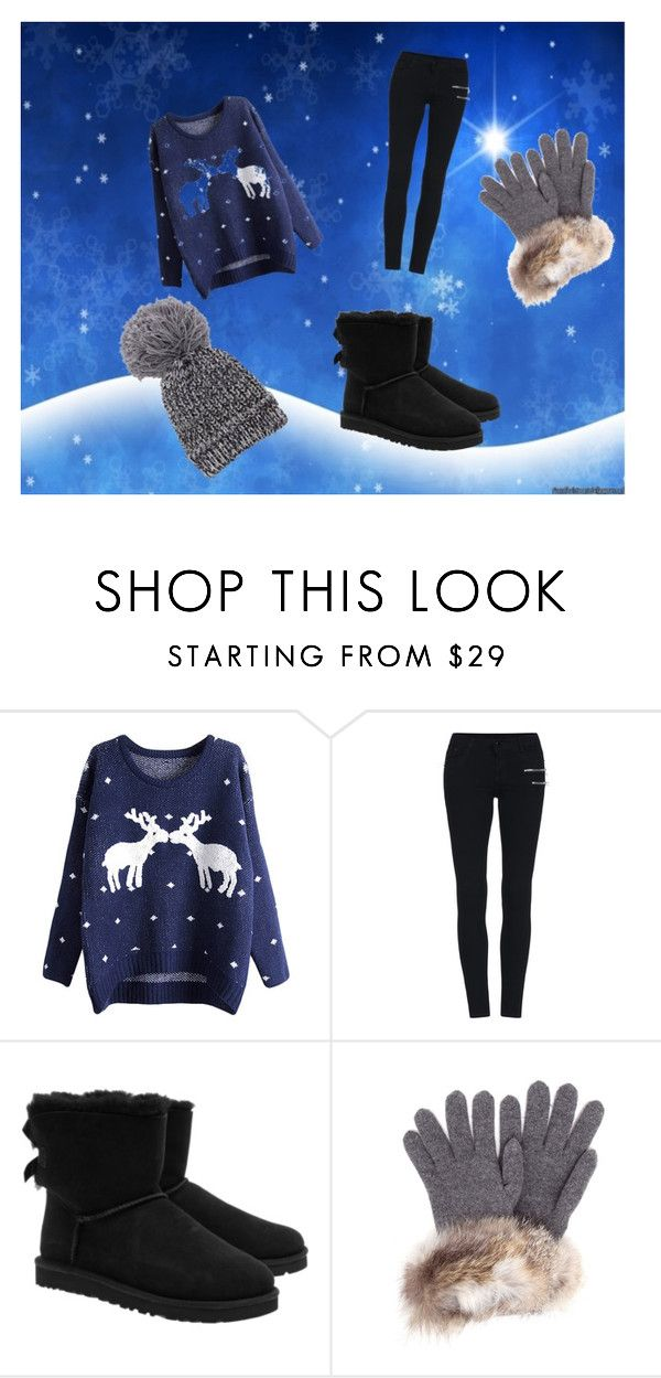 """""""the winters"""" by lila2004 ❤ liked on Polyvore featuring beauty, UGG Australia and Inverni"""
