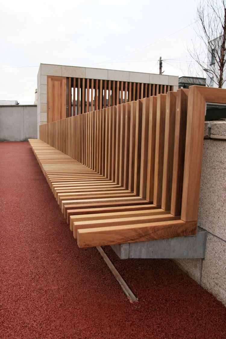 urban bench / Rathmines Dublin | Outdoor design, Bench ...