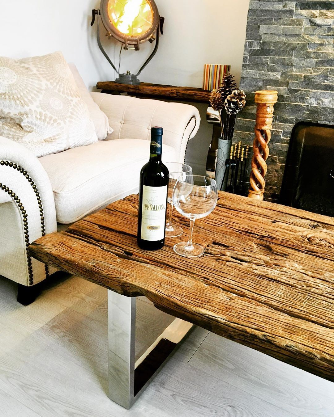 Id Bespoke Ivan Dazarts On Instagram Stunning Contemporary Coffee Table With Reclaimed Wood Top Combined With Contemporary Coffee Table Coffee Table Table [ 1350 x 1080 Pixel ]