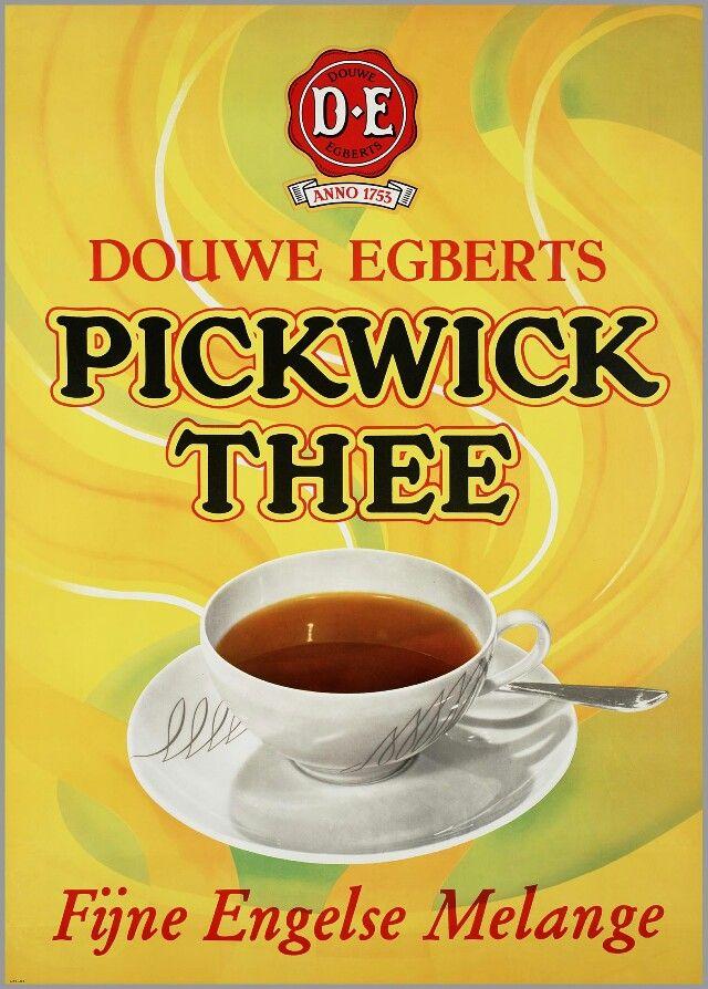 Voor Pickwick thee 1968