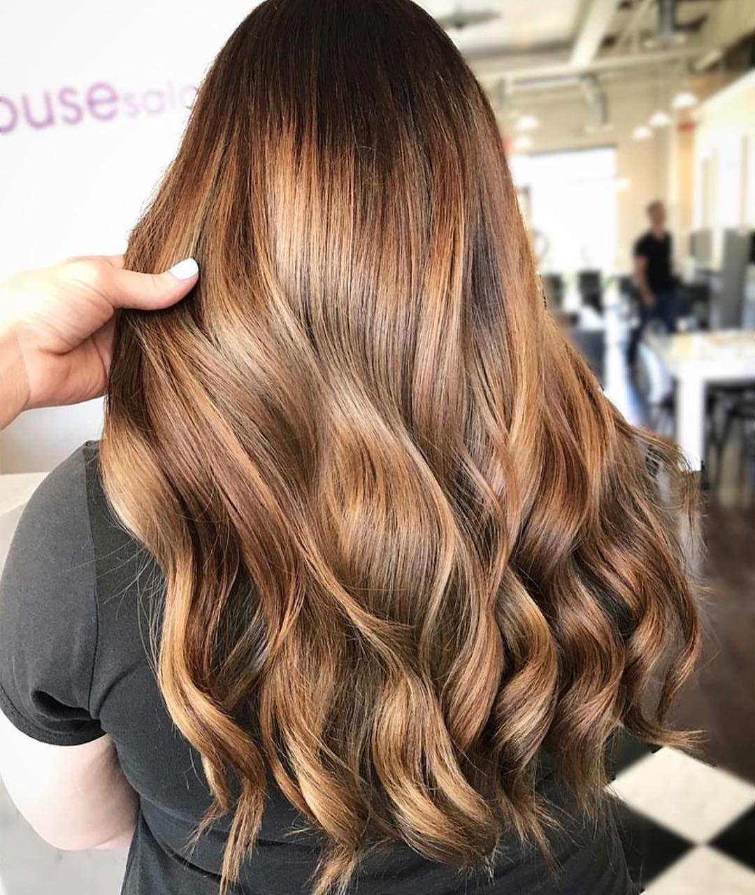 Hair color inspiration ,Cinnamon Spice balayage hair color ,ombre hair color ideas ,chocolate brown hair ,blonde hair color  #haircolor #brownhair