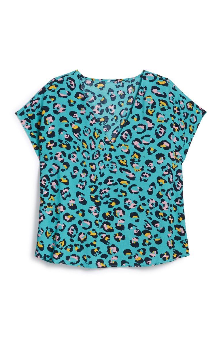 8efb0d94a551e7 Primark - Leopard Print Shirt | Tshirts in 2019 | Printed shirts ...