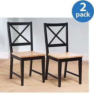 5b91246a32594488acf14ba05a5b75d3 - Better Homes And Gardens Bankston Dining Chair White 2 Pack