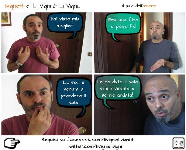 """""""Il sale dell'amore"""" #comics #palermo #cabaret"""
