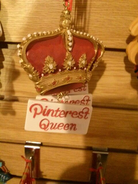 Pintrest Queen ornament