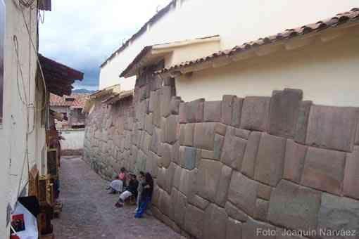 23/ HORIZON RÉCENT. INCA. Cuzco / Qosqo.
