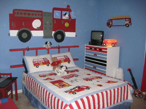 Fire Truck Boys Bedroom Fire Truck Bedroom Firetruck Boys