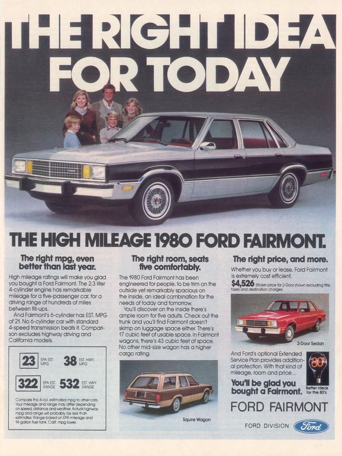 Directory Index Ford 1980 Ford Automobile Advertising Fairmont