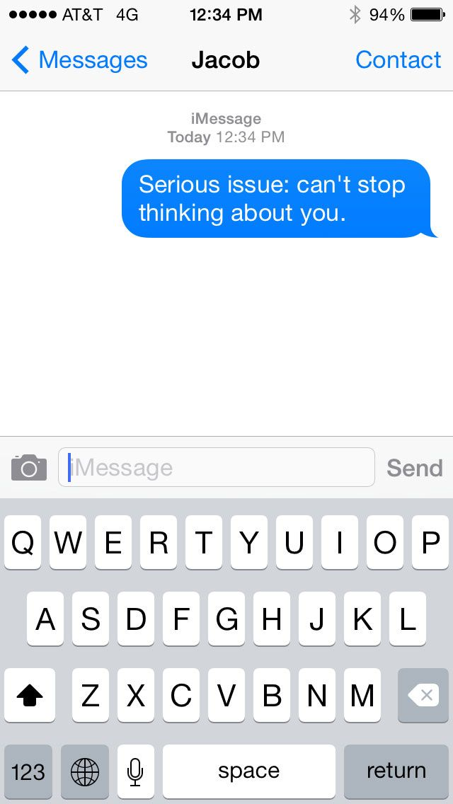 Cute Flirty Text Messages To Send To A Guy