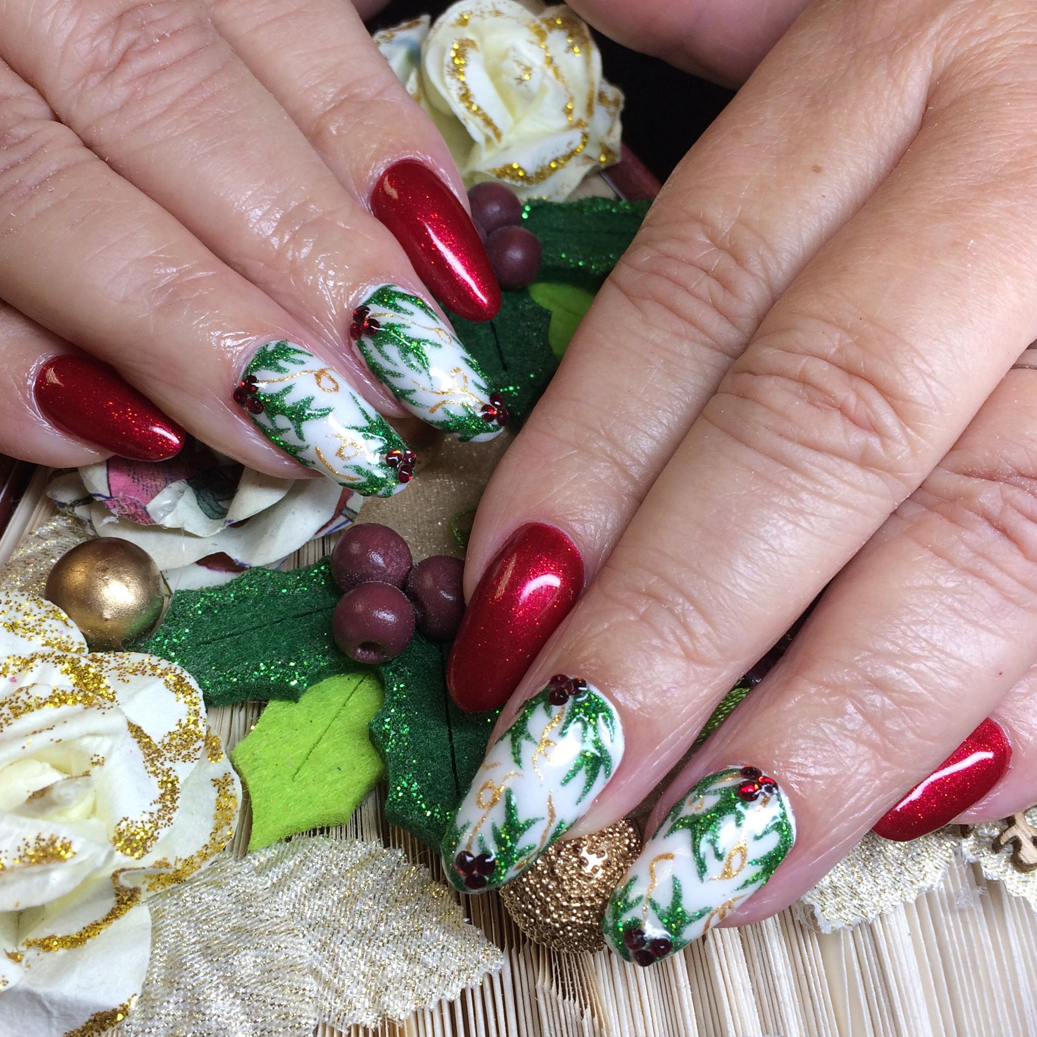 I\'m in love with these #naturalnails. Using Hand & Nail Harmony ...