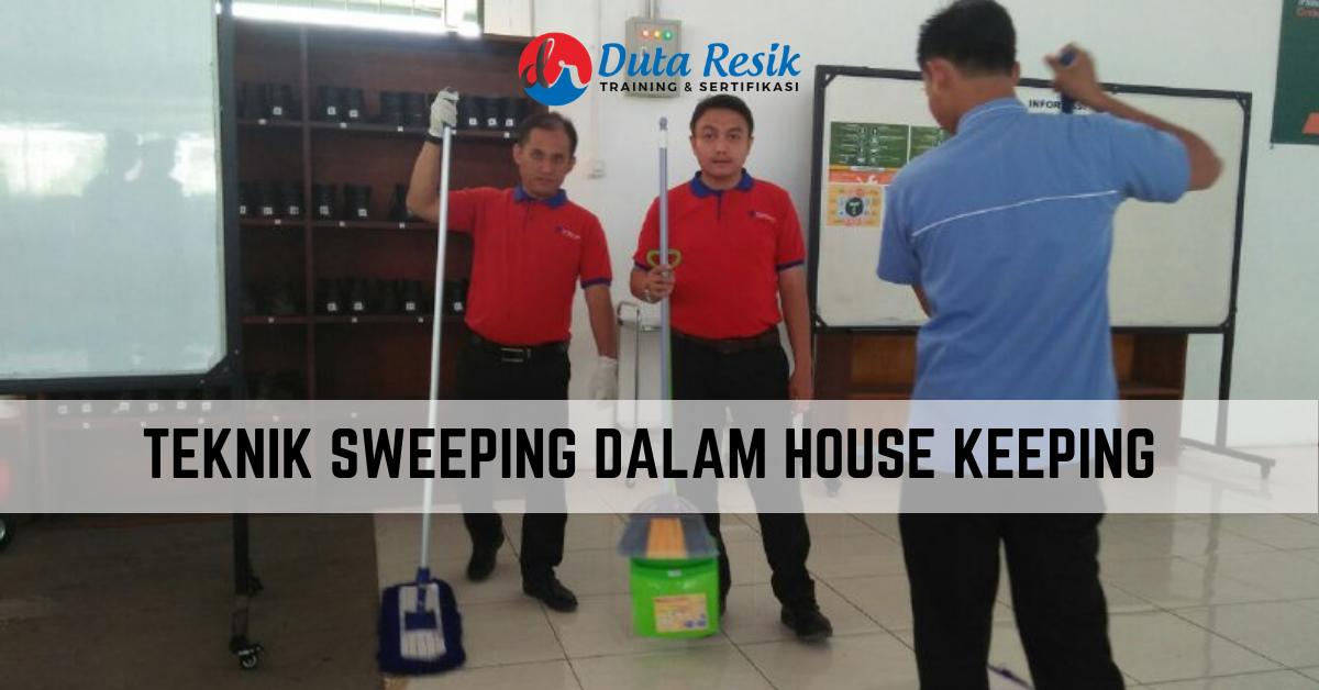 Telp/WA 082233118299, Teknik Sweeping Dalam House