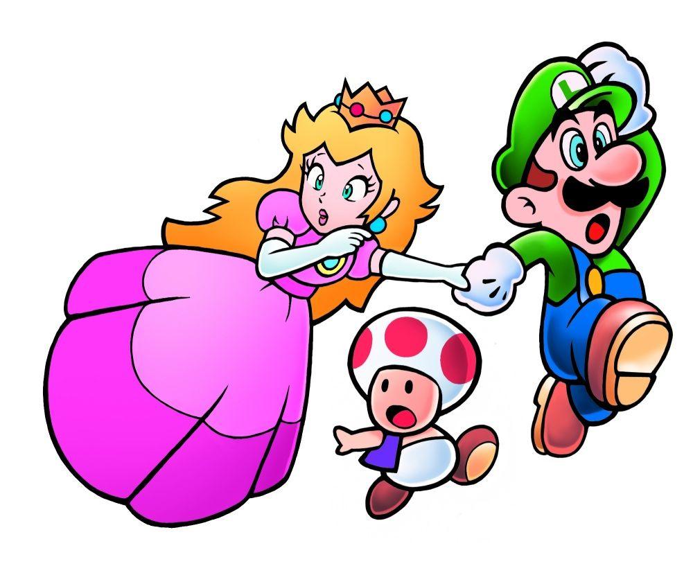 845 Toad Princess Toadstool Toad Luigi Super Mario 2