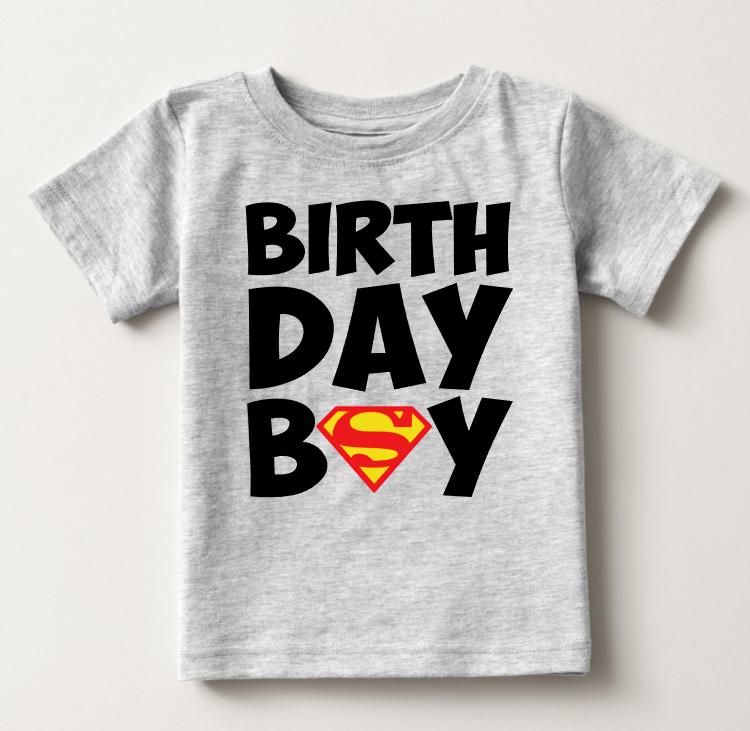 Personalised I am 2 Comic Birthday Top Second Birthday T-shirt Custom Hero