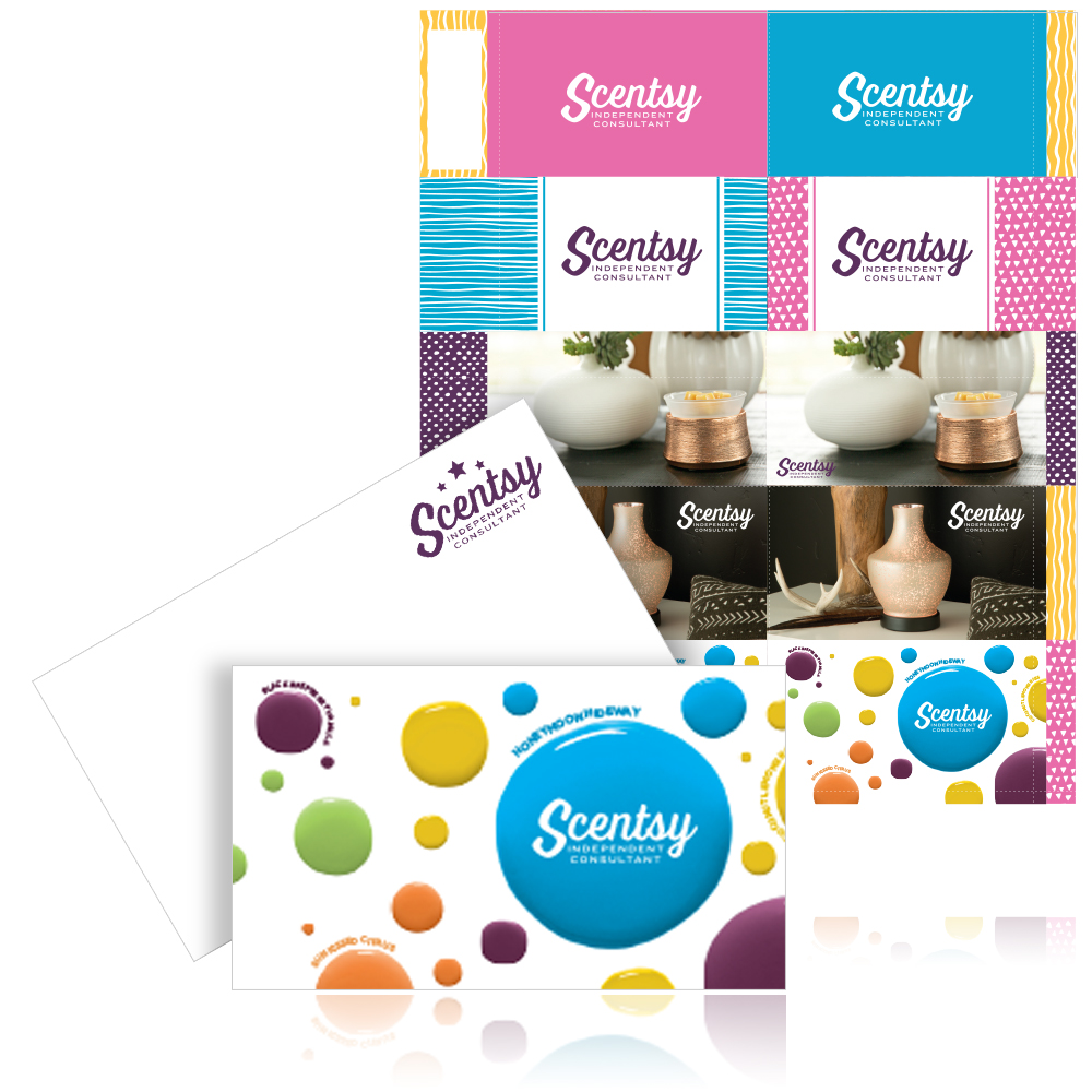 Scentsy Pyo Business Cards Cards Scentsy Pie Chart