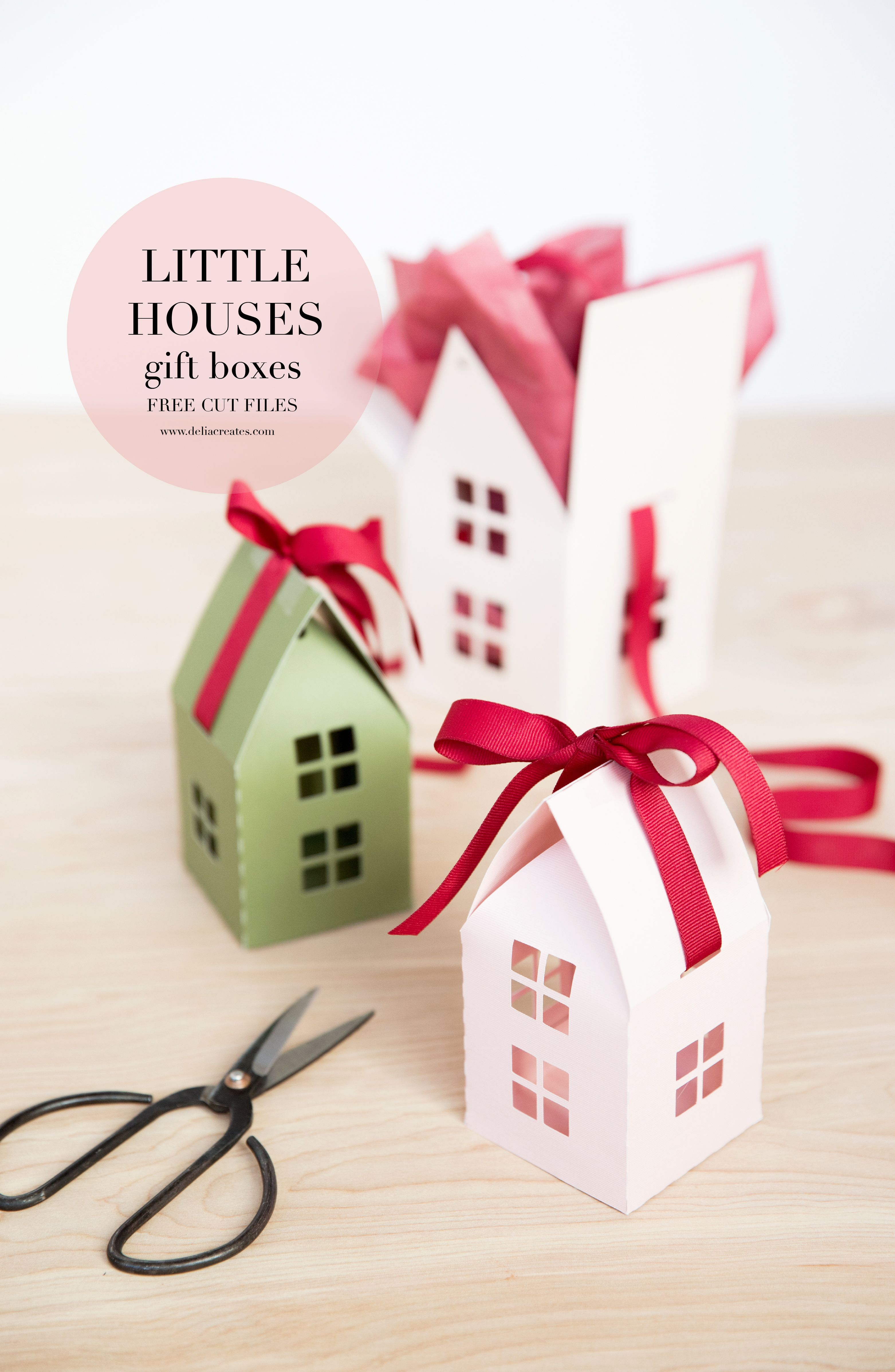 Little house gift box free cut files deliacreates little house gift box free cut files deliacreates negle Images