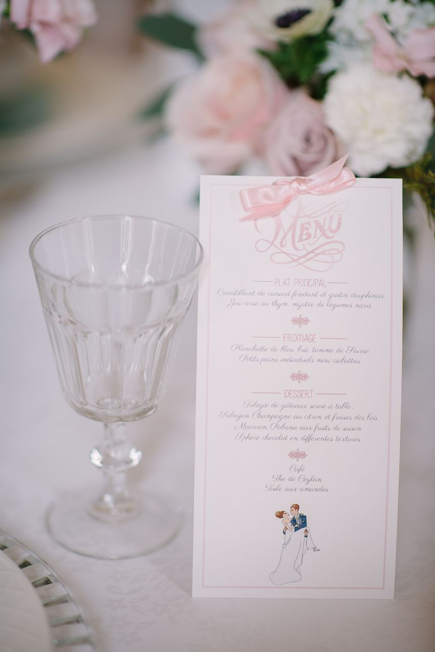Inspirational Pastel Wedding at a French Château in Paris, France ...