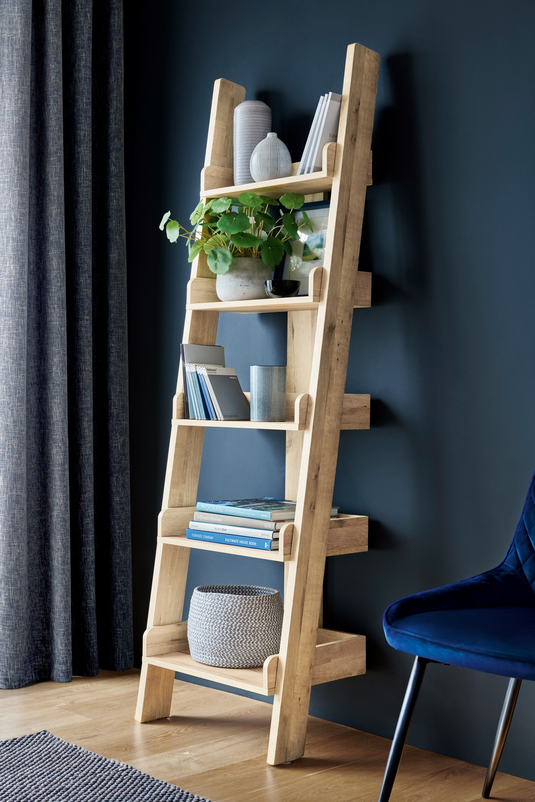 Bronx Ladder Shelf in 2020 Shelves, Bookcase shelves