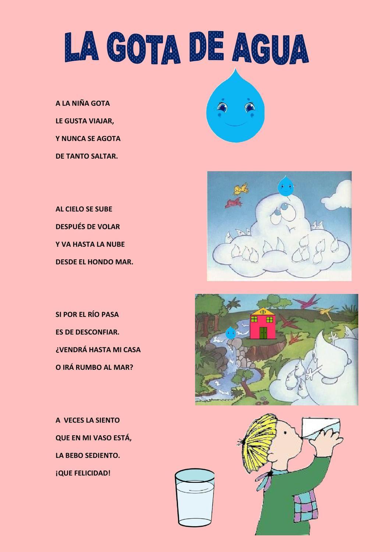 Poesías El Invierno Poesía Para Niños Poesia Sobre El Agua Poemas Cortos Para Niños