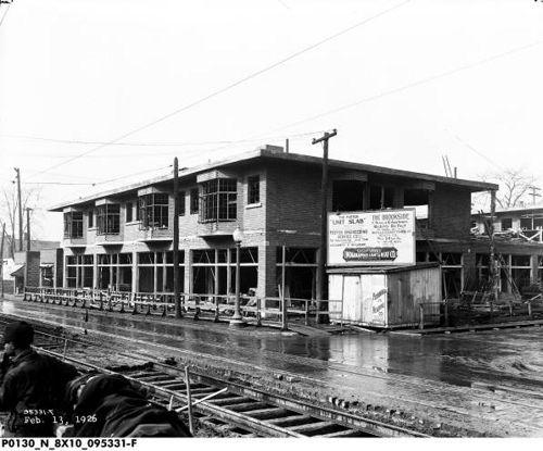 Brookside Building Construction Feb 13 1926 Bass 095331 Building Construction Construction Building