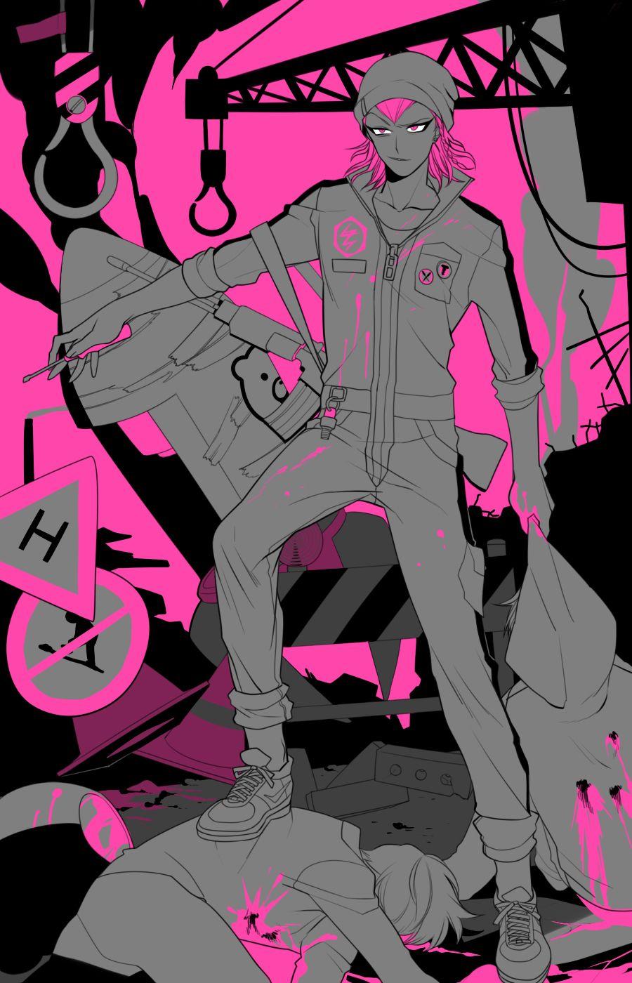 Souda Kazuichi 1601928 Zerochan Danganronpa Super Danganronpa Danganronpa Characters