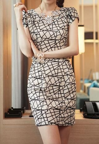 Chic dress - needs length for modesty