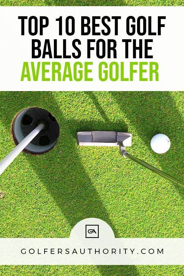 Best Golf Balls For Average Golfer | Golf ball, Golf, Golf ...