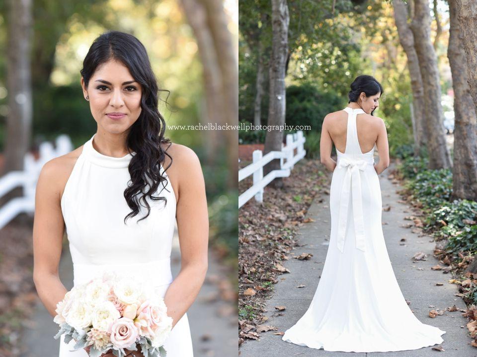 RACHEL BLACKWELL PHOTOGRAPHY Vera Wang Wedding Dress. Classic Bride.  Classic Bridal Beauty. Bay