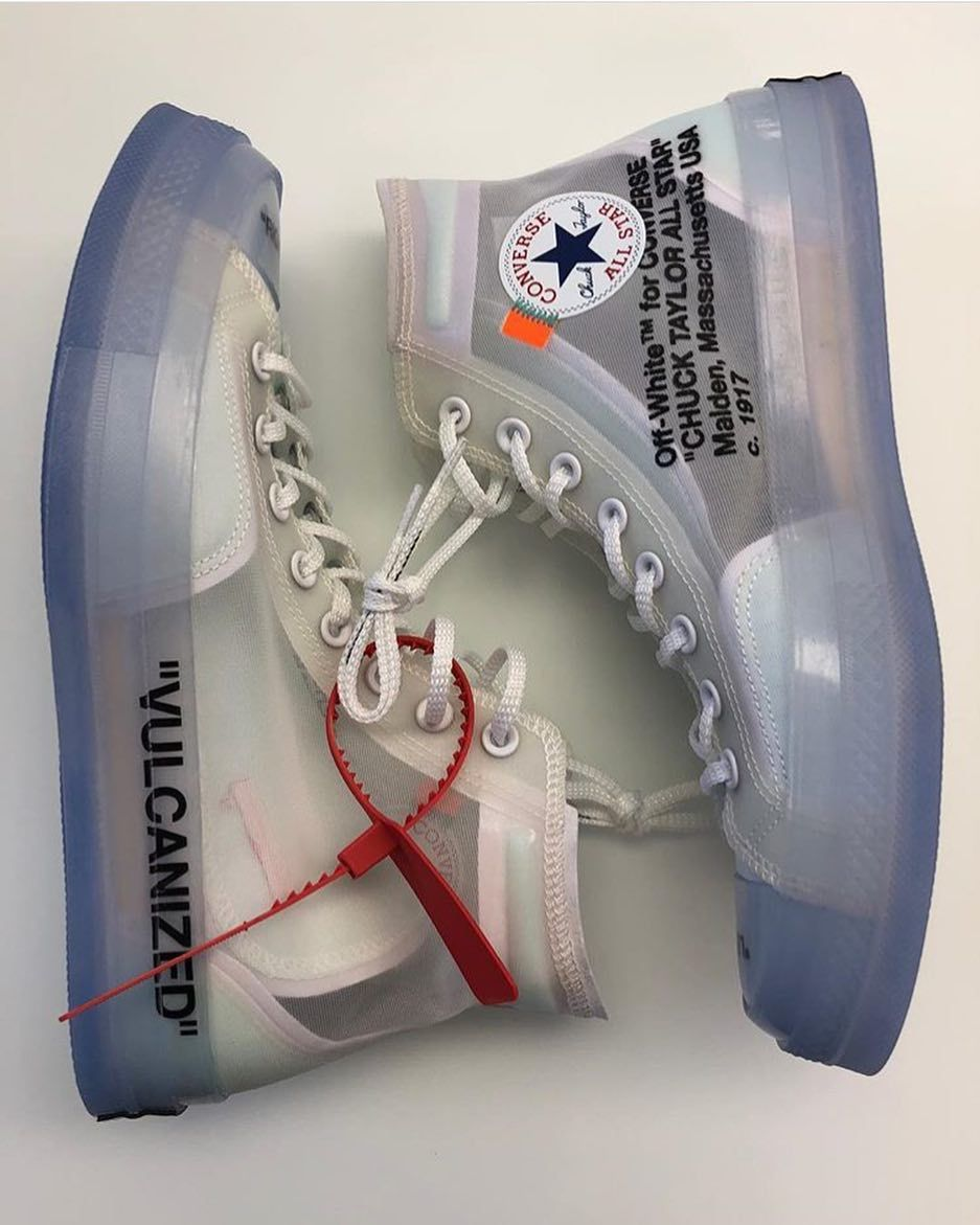 See Through Converse The Last Pair Of The Nike X Off White