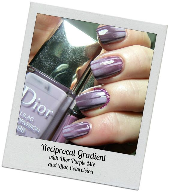 Nail of the Day: Reciprocal Gradient | Pointless Cafe