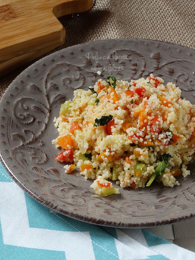 Cous cous alle verdure da cucinare verdure ricette e for Cucinare cous cous