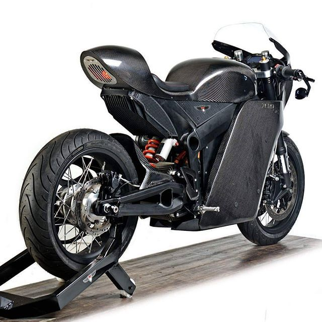Zero Motorcycles Electric Cafe Racer By White Collar Bike
