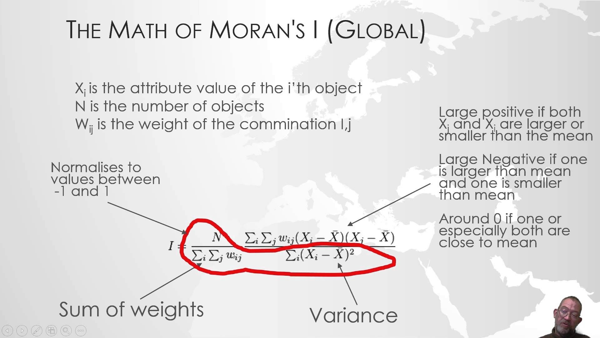 Hot Spot analysis using Morans I and getis-ord statistics in ArcMap