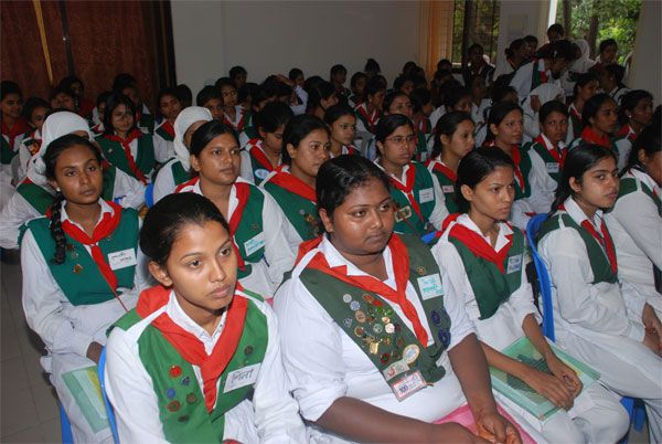girl guides of bangladesh | Age range : 17 to 26 years