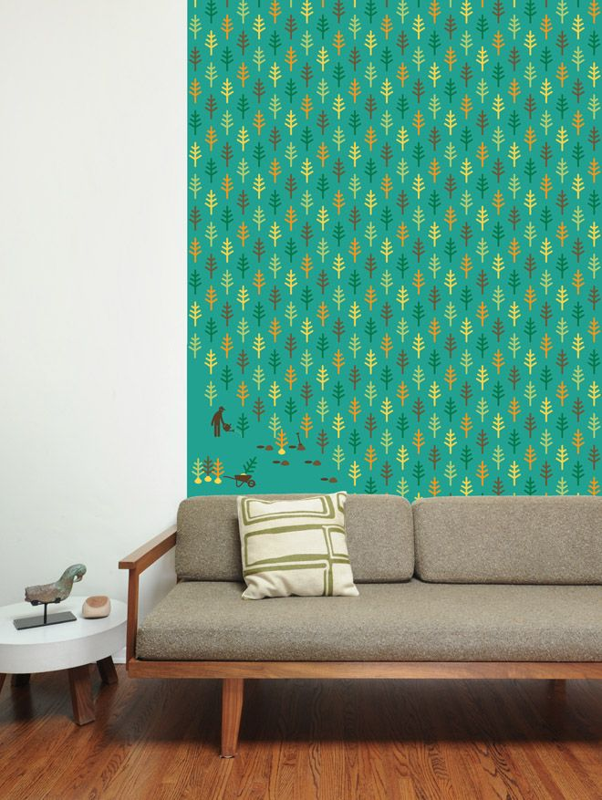 Pattern na parede