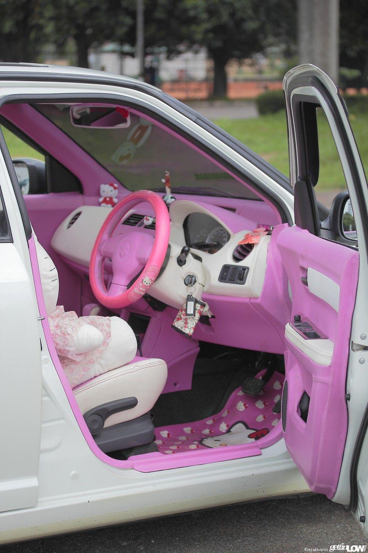 Hello Kitty Sinta 2012 Suzuki Swift Modifikasi Mobil Mobil Mewah Mobil