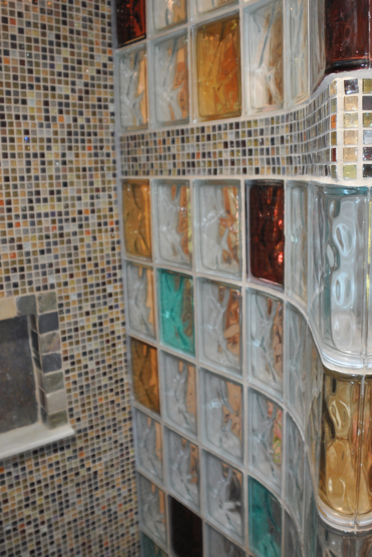 custom products and 3 planning tips make a bathroom remodel in new york stand out glass block showerunique