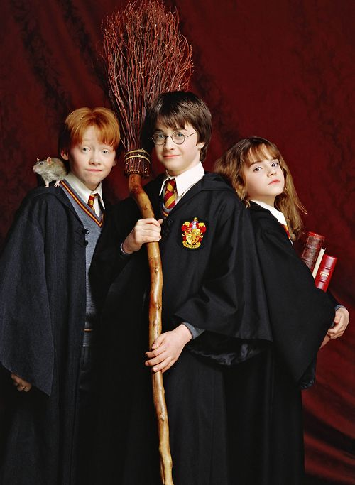 The Trio in Harry Potter and the Sorcerer's Stone