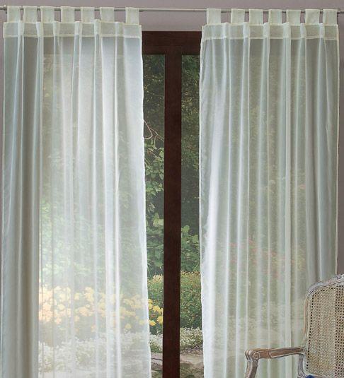 Juego de cortinas tergal beige decoraci n casita for Cortinas salon beige