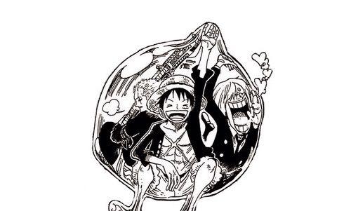 Zoro Luffy And Sanji Fishman Island Episode 526 Cizimler