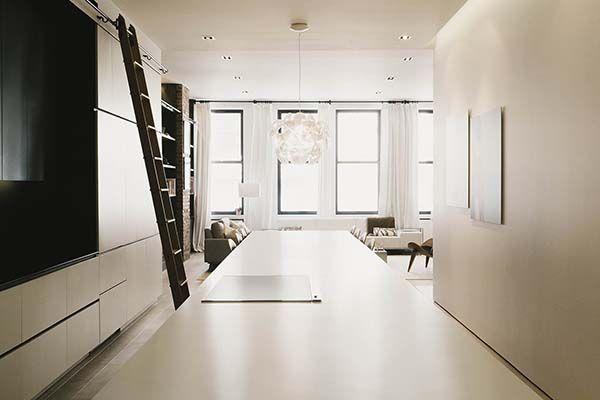 Prewar loft evoking an inviting feel in Greenwich Village, NY