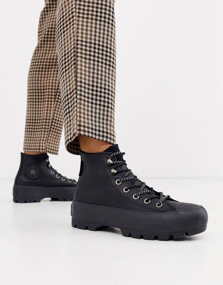 Converse Black Goretex Leather Chuck